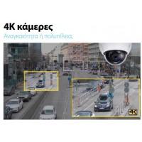 4K Κάμερες ασφαλείας υψηλής ανάλυσης