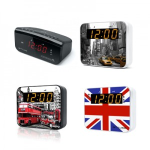 Ψηφιακά Ράδιο-ρολόγια