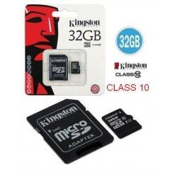 Kingston microSDHC 32GB Class 4