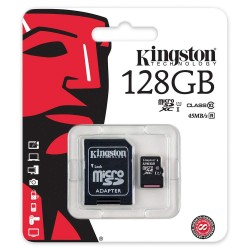 Kingston microSDXC 128GB Class 10