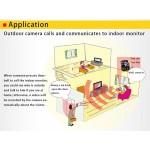 KDB300 Wireless video door phone