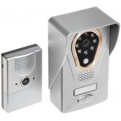 Θυροτηλεόραση WiFi ασύρματη KDB400, εγγραφή φώτο έως 32Gb, άνοιγμα πόρτας, μπαταρίες