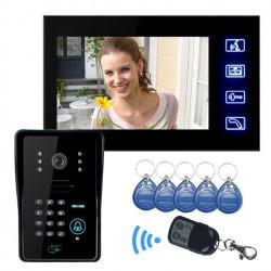 Θυροτηλεόραση SY806MJIDS11 με 7'' Οθόνη 5 x RFID Access και πληκτρολόγιο, 1 x τηλεχειριστήριο για πρόσβαση