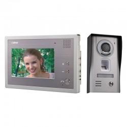 VP-701Z Έγχρωμη θυροτηλεόραση με δακτυλικό αποτύπωμα και οθόνη 7''