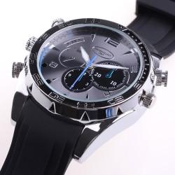 SM-W5000 Κρυφή κάμερα  σε ρολόι χειρός  με δερμάτινο λουρί υψηλής ανάλυσης