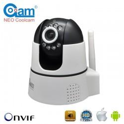 COOLCAM NIP-22 (HBP) Ασύρματη Κάμερα WiFi 720p/1Mp, ήχος, IR LED, MicroSD, P2P