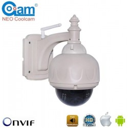 COOLCAM NIP-31FX Ασύρματη κάμερα WiFi 720p/1Mp Αδιάβροχη PTZ 3x, με 8GB MicroSD, περιστρεφόμενη