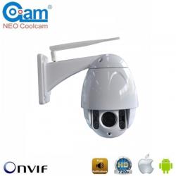 COOLCAM NIP-39FNZ10 Ασύρματη κάμερα WiFi 720p/1Mp Αδιάβροχη PTZ 10x, MicroSD, περιστρεφόμενη