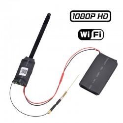 SM-S09-PN Mini κρυφή κάμερα ασύρματη υψηλής ανάλυσης 1080P σύνδεση με κινητό
