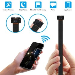 S09-IR LED Κρυφή κάμερα Module WiFi  1080p με ανιχνευτή κίνησης MicroSD σύνδεση με κινητό