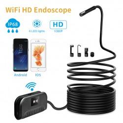 SM-ES3 HD Ενδοσκοπική κάμερα 3.5 μέτρα καλώδιο, IP68, 6 led, Wifi, Δυνατότητα διαχείρισης από κινητό