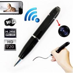OEM-E01 Κρυφή κάμερα στυλό IP WiFi 720p σύνδεση με κινητό USB, μπαταρία