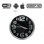 HC04-IP Κρυφή κάμερα ασύρματη WiFi σε ρολόι τοίχου