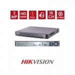HIKVISION DS-7216HQHI-K2/P Καταγραφικό 16 καναλιών & 8 IP