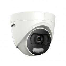 HIKVISION DS-2CE72DFT-F ColorVu Κάμερα Dome 1080P με φακό 3.6mm και ΙR20m