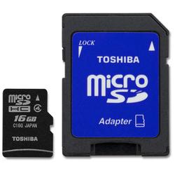Toshiba microSDHC 16GB Class 4