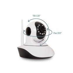 YOOSEE D1700-AB WIFI Ασύρματη κάμερα για νυχτερινή ή ημερήσια λήψη