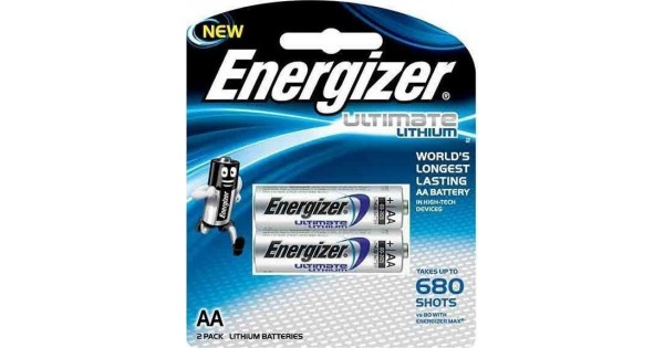 energizer aa l91 ultimate lithium. Black Bedroom Furniture Sets. Home Design Ideas