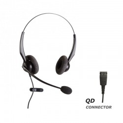 Ακουστικό κεφαλής VT2000NC Duo για τηλεφωνική συσκευή