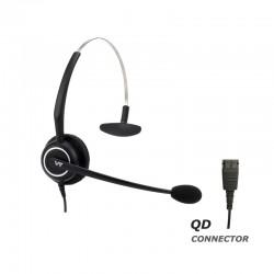 Ακουστικό κεφαλής VT5000UNC Mono για τηλεφωνική συσκευή