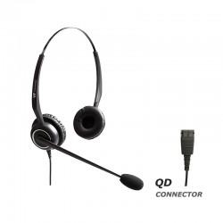 Ακουστικό κεφαλής VT5000UNCD Stereo για τηλεφωνική συσκευή