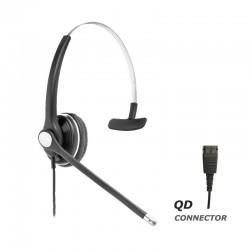 Ακουστικό κεφαλής VT8000UNC Mono για τηλεφωνική συσκευή