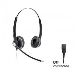 Ακουστικό κεφαλής VT8000UNC Duo για τηλεφωνικές συσκευές