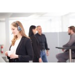 Ακουστικό κεφαλής VTX200 USB Skype for Business