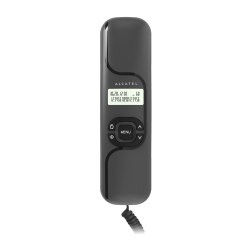 Alcatel T16 temporis. Ενσύρματο τηλέφωνο τύπου γόνδολα με οθόνη