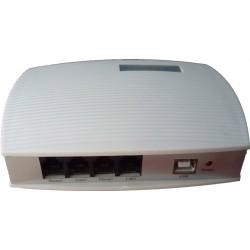 Excelltel CDX-602U Καταγραφικό φωνητικής κλήσης USB από 2 γραμμές PSTN