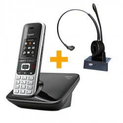 Gigaset S850 + bluetooth ασύρματα ακουστικά VT9602BT
