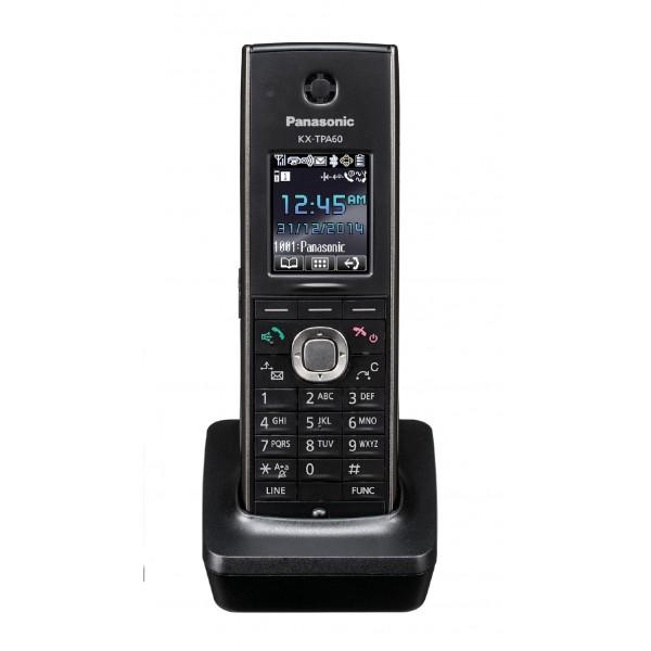 Panasonic KX-TPA60CEB Single Cell DECT Phone, Optional Handset