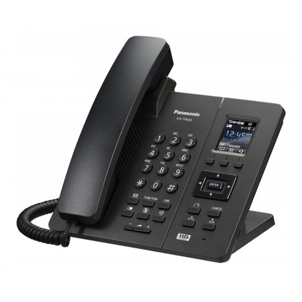 Panasonic KX-TPA65CE Single Cell DECT, Wireless Desk Phone Black Colour