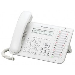 Panasonic KX-DT543 λευκή ψηφιακή κονσόλα με 24 προγραμματιζόμενα πλήκτρα LCD 3 γραμμών