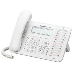 Panasonic KX-DT546 λευκή με οθόνη LCD 6 γραμμών 24 προγραμματιζόμενα πλήκτρα LCD 6 γραμμών Hotel