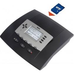 Tiptel 540 SD κάρτα μνήμης επαγγελματικός αυτόματος τηλεφωνητής- καταγραφέας κλήσεων 16 - 64 ώρες
