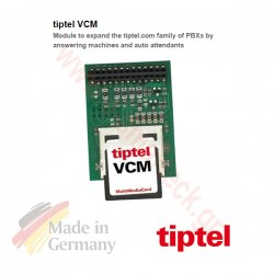 tiptel VCM επέκταση για voice mail, auto attendants