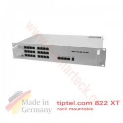 Tiptel.com 822XT Rack Τηλεφωνικό κέντρο 3 ISDN γραμμών 8 εσωτερικά επεκτάσιμο