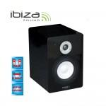 "Ibiza Sound MS6-SB Ζευγάρι Ενεργά Ηχεία Μόνιτορ 60W RMS 6""/16cm."