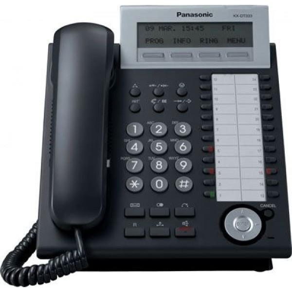 Panasonic KX-DT333 Μάυρη (Used)